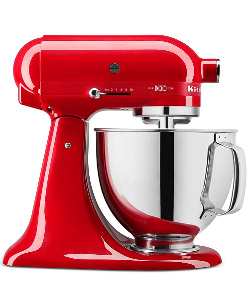 KitchenAid KSM180QHSD 100 Year Limited Edition Queen of Hearts 5-Qt. Tilt-Head Stand Mixer