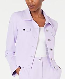 Calvin Klein Button Front Blazer