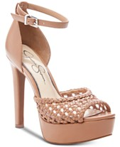 bbab129c61 Jessica Simpson Beeya Two-Piece Platform Sandals, Created for Macy's