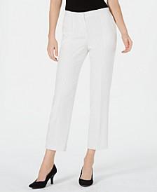 Pinstriped Trouser Pants