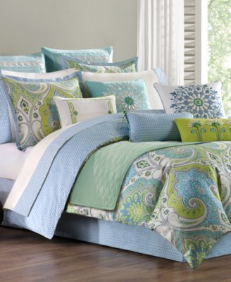 Sardinia Twin Reversible Duvet Cover Set