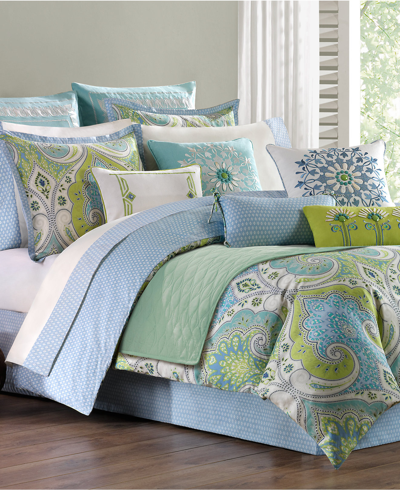 Echo Sardinia 3 pc Reversible Bedding Collection  300 Thread Count 100   Cotton   Bedding Collections   Bed   Bath   Macy s. Echo Sardinia 3 pc Reversible Bedding Collection  300 Thread Count
