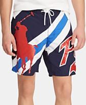 f5be530366 Men Polo Swim Trunks: Shop Polo Swim Trunks - Macy's