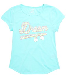 Max & Olivia Little & Big Girls Dream-Print Pajama Top, Created for Macy's