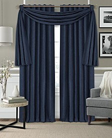 Leila Matelasse Blackout Curtain Panel & Window Valance Collection