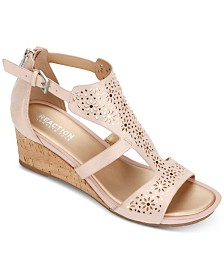 Kenneth Cole Reaction Women's Roll T-Strap Sandals