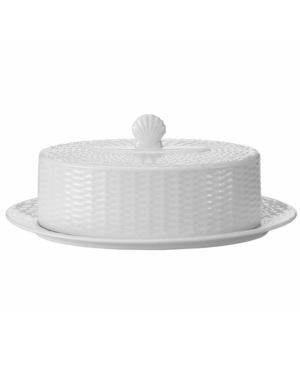 Wedgwood Dinnerware, Nantucket Basket Covered Butter Dish