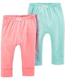 Carter's Baby Girls 2-Pk. Jogger Pants