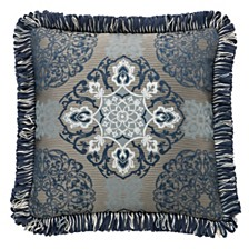 """Waterford Jonet 18"""" X 18"""" Square Collection Decorative Pillow"""