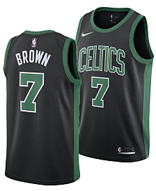 Nike Men's Jaylen Brown Boston Celtics Statement Swingman Jersey