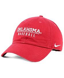 Nike Oklahoma Sooners Campus Sport Strapback Cap