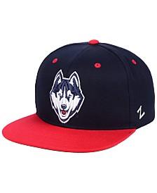 Zephyr Connecticut Huskies Core Snapback Cap
