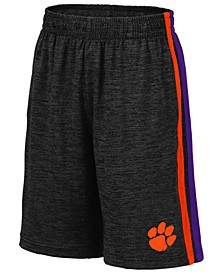 Big Boys Clemson Tigers Team Stripe Shorts