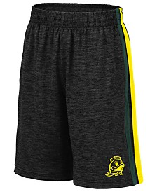 Colosseum Big Boys Oregon Ducks Team Stripe Shorts