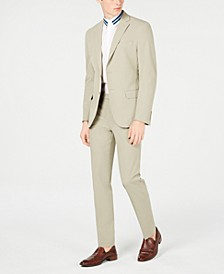 Men's Slim-Fit Stretch Washable Suit Separates