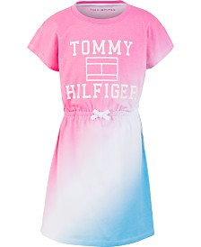 Tommy Hilfiger Big Girls Cotton Dip Dyed Dress