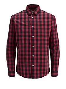 Jack & Jones Men's Essential Gingham Shirt