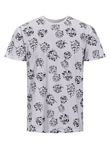 Jack & Jones Men's Floral T-Shirt