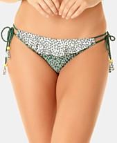 cf314e094ac Anne Cole Studio Days Eye Ditsy Printed Side-Tie Bikini Bottoms
