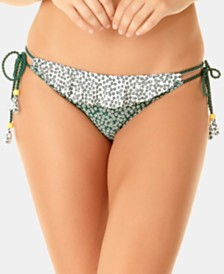 Anne Cole Studio Days Eye Ditsy Printed Side-Tie Bikini Bottoms