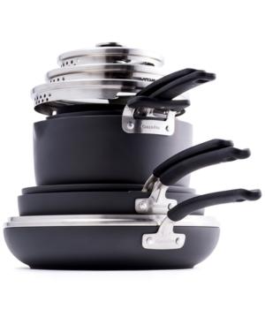 GreenPan Levels 11-Pc. Stackable Ceramic Nonstick Cookware Set