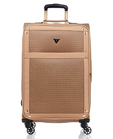 "GUESS Fashion Travel Quora 24"" Spinner Upright Luggage"