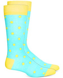 Men's Polka Dot Socks, Created for Macy's
