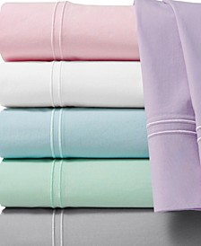 300 Thread Count Prewashed Cotton Percale Sheet Sets