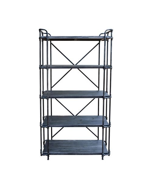 Noble House Yorktown Outdoor 5-Tier Shelf