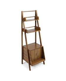 Maier Acacia Wood Flower Stand, Quick Ship