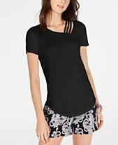 e02009632dde20 Black Tops Womens INC International Concepts Clothing - Macy s