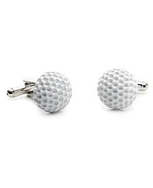 Enamel Golf Ball Cufflinks