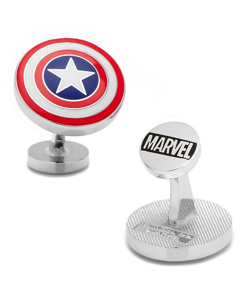 Cufflinks Inc. Captain America Shield Cufflinks
