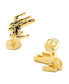 Plated X-Wing Cufflinks