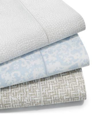 Sleep Luxe Cotton 800-Thread Count 4-Pc. Printed Extra Deep Pocket King Sheet Set, Created for Macy's