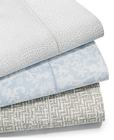 Sleep Luxe Cotton 800-Thread Count 4-Pc. Printed Extra Deep Pocket Sheet Sets, Created for Macy's