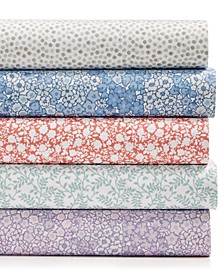 Printed Microfiber 4-Pc. Sheet Sets, Created for Macy's