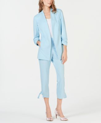 Side Tie Ankle Pants, Created for Macy's