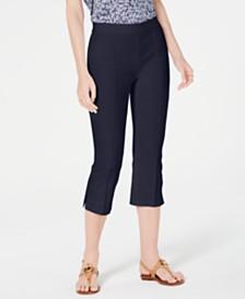 MICHAEL Michael Kors Pull-On Capri Pants, Regular & Petite Sizes