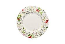 Brillance Fleurs Sauvages Rim Salad Plate