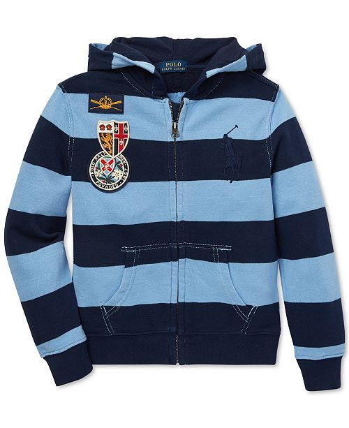 1ac206866 Polo Ralph Lauren Toddler Boys Cotton French Terry Hoodie   Reviews ...