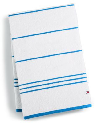 Home All American II Cotton Stripe Bath Towel, Created for Macy's