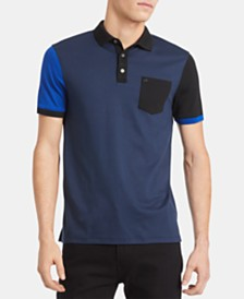 Calvin Klein Men's Colorblocked Polo Shirt