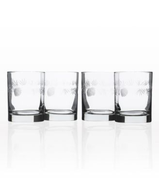 Icy Pine Cooler Highball 15Oz - Set Of 4 Glasses