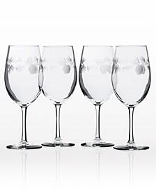 Icy Pine All Purpose Wine Glass 18Oz - Set Of 4 Glasses