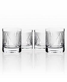 Bleecker Street On The Rocks 11Oz - Set Of 4 Glasses