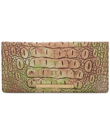 Brahmin Ady Atlas Melbourne  Embossed Leather Wallet