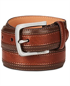 Tommy Hilfiger Big Boys Mix-Media Dress Belt