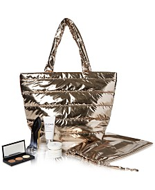 Created for Macy's 6-Pc. Gold Tote Set
