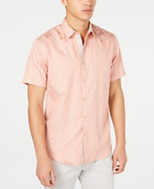 I.N.C. Men's Carter Jacquard Shirt, Created for Macy's